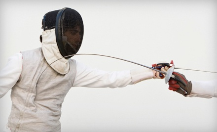 3 Beginner Fencing Classes (a $50 value) - Gold Blade Fencing Center in Southlake