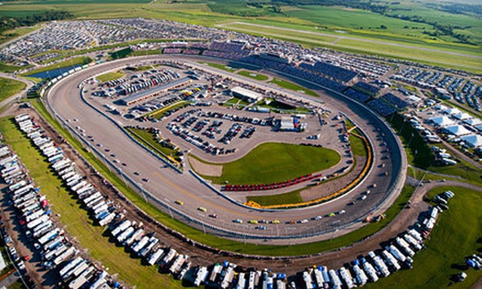 Pioneer Hi-Bred 250 NASCAR Nationwide Series - Iowa Speedway: Pioneer Hi-Bred 250 NASCAR Nationwide Series Race at Iowa Speedway in Newton (Up to 51% Off). Three Options Available.