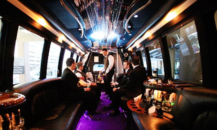 Mystique Limos - Regina: Friday or Thursday Night Limo Package for Up to 20 Including VIP Status at Habano's or The Whiskey Saloon from Mystique Limos