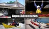 Aqua Adventures - Mission Bay Park: $55 for a Kayaking Season Pass, 25% Off Lessons, and Free Suit Rental at Aqua Adventures ($205 Value)