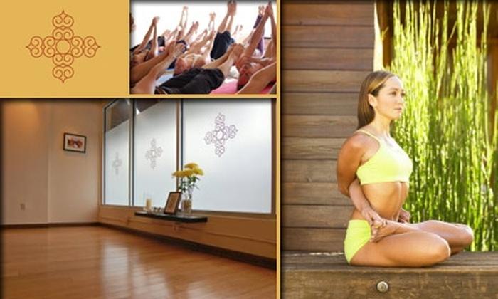 Miami Life Center - Flamingo / Lummus: $39 for Five Yoga Classes at Miami Life Center ($85 Value)