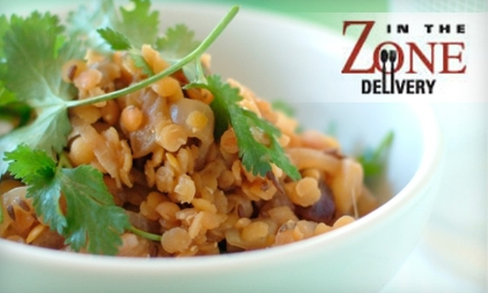 In the Zone - Norwalk: $25 for $75 Worth of Freshly Prepared Meals from In The Zone Delivery