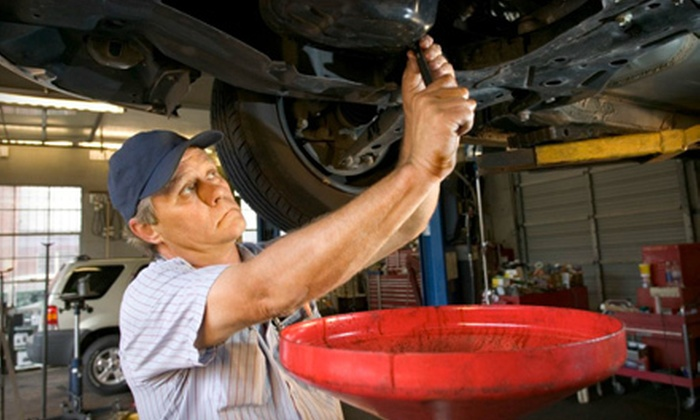 Prestige Automotive Group LLC - Keeling: One, Three, or Five Full-Service Oil Changes with 32-Point Inspection at Prestige Automotive Group LLC (Up to 76% Off)