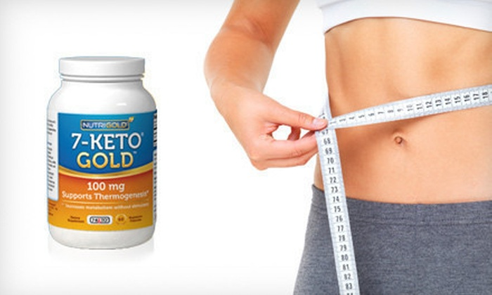 7-Keto DHEA Gold Weight-Loss Supplement: One-Month Supply of 7-Keto DHEA Gold Weight-Loss Supplement (74% Off). Free Shipping.