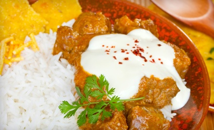 $25 Groupon to Spice South Indian Cuisine - Spice South Indian Cuisine in Charlotte
