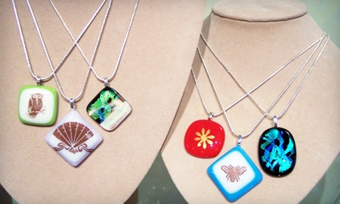 The Glass Workbench - Saint Charles: $20 for a Glass-Fusing Workshop and Two Take-Home Pendants at The Glass Workbench in Saint Charles ($40 Value)