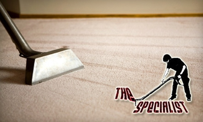 The Specialist Cleaning - Westchester County: $39 for Eco-Safe Carpet Cleaning in Two Rooms and One Hallway from The Specialist Cleaning ($80 Value)