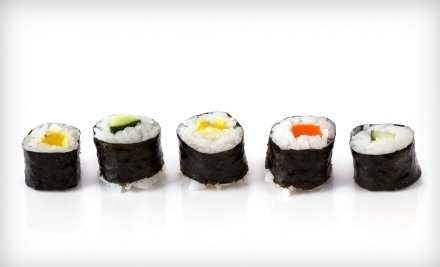 $20 Groupon to G-In Sushi & Grill - G-In Sushi & Grill in Tinley Park