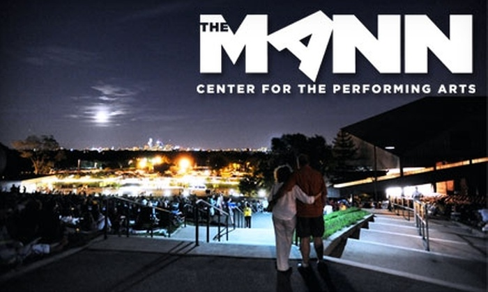 The Mann Center for the Performing Arts - Fairmount Park: Orchestra-Level Tickets at The Mann Center for the Performing Arts. Three Options Available.