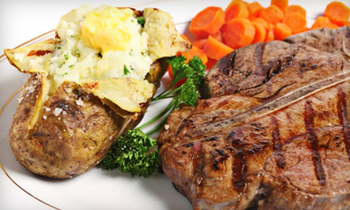 Safari Steak House - Hobart: American Fare from the Bar or Restaurant Menu at Safari Steak House (Half Off)