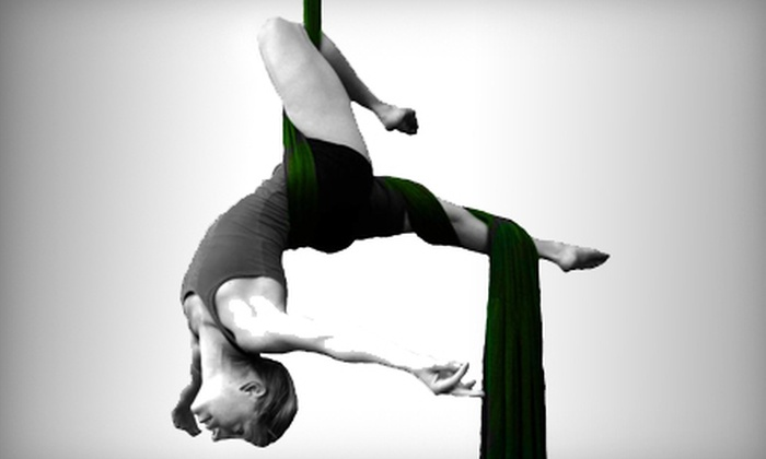 Lifted Arts - Tigard Neighborhood Area 7: Two-Hour Introduction-to-Aerial-Acrobatics Workshop or Five Aerial Dance Classes at Lifted Arts (Up to 61% Off)