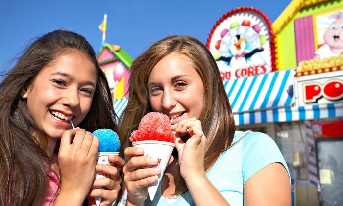 Midway of Fun at Sacramento County Fair - North Sacramento: $15 for Carnival Rides at the Midway of Fun at the Sacramento County Fair (Up to $30 Value)