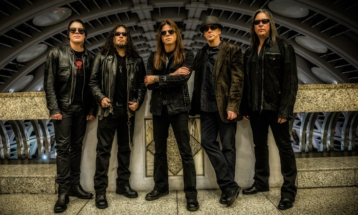 Queensrÿche - DTE Energy Music Theatre: Queensrÿche with Great White, Dio Disciples and Bang Tango on August 28 at 6:45 p.m. (Up to 41% Off)