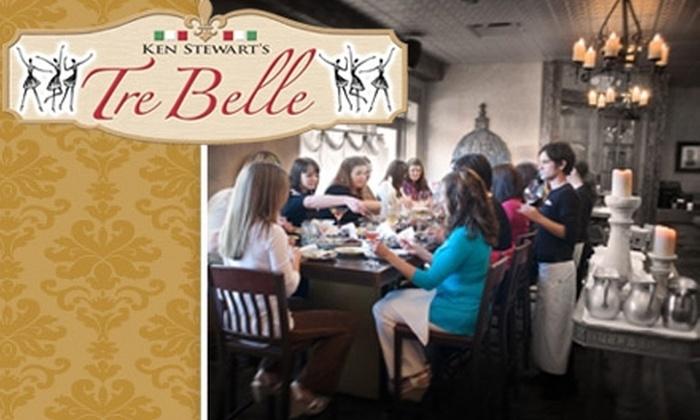 Ken Stewart's Tre Belle - Bath: $10 for $20 Worth of Italian Cuisine and Drinks at Ken Stewart's Tre Belle
