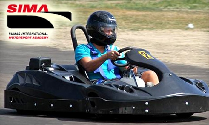 Sumas International Motorsport Academy - Sumas: $24 for Three 7-Minute Weekday Races or Two 10-Minute Weekend Races at Sumas International Motorsport Academy ($48.82 Value)