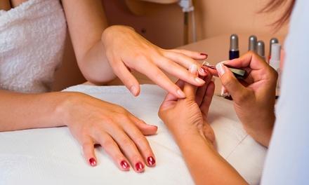 Wash, Cut, and Polish on Hands and Feet With Optional Mum's Haircut and Nail Polish at Bubbles Nail Spa (Up to 73% Off)