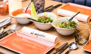 DoubleTree By Hilton Hotel Dubai Jumeirah Beach: Set Menu for One, Two or Four at DoubleTree By Hilton Hotel Dubai Jumeirah Beach (Up to 69% Off)