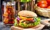 PITCHER's Pub - PITCHER's Pub,: Burger-Menü inklusive Softdrink für Zwei im PITCHER's Pub