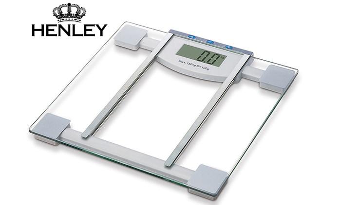 משקל אדם עם אפשרות למדידת אחוזי שומן, אחוזי מים, מסת שריר, קלוריות, דחיסות עצמות וחישוב BMI של הגוף, ב-59 ₪ בלבד