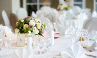 Wedding Package for 50 Day and Evening Guests at White Bull at Gisburn (33% Off)