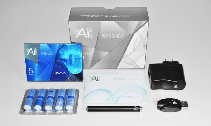 A1 Vapors - Multiple Locations: Electronic-Cigarette Classic, Titan, or E-Liquid Starter Kit from A1 Vapors (Up to 51% Off)