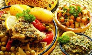 Restaurant De Afric: Afrikanisches 3-Gänge-Menü für zwei oder vier Personen im Restaurant De Afric (bis zu 48% sparen*)