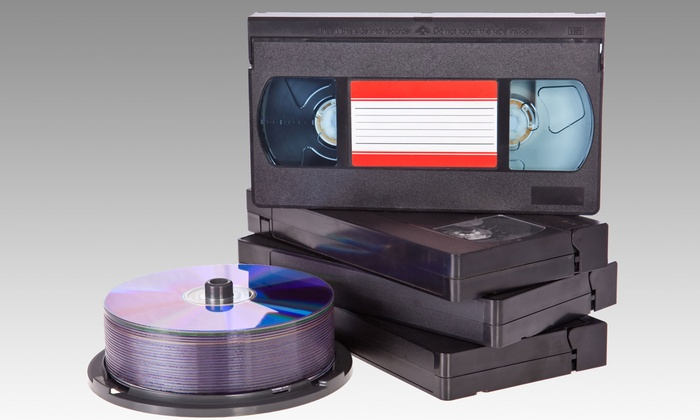 ARS Video - Tallmadge: Digital Transfers of Old Media to DVD from ARS Video (Up to 72% Off). Four Options Available.