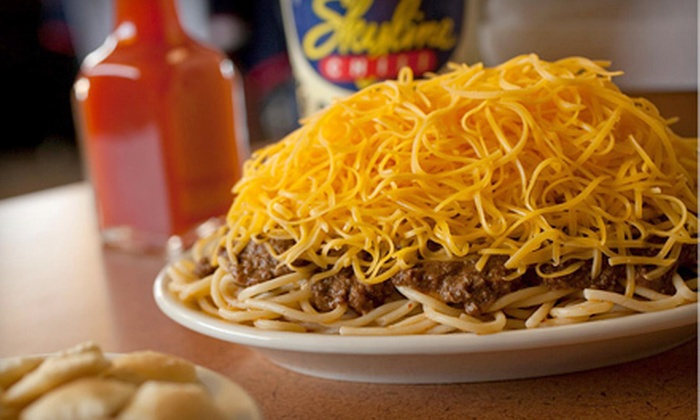 Skyline Chili - Skyline Chili- University of Dayton: Four or Five-Visit Voucher for Casual Food at Skyline Chili (Half Off). Two Options Available.