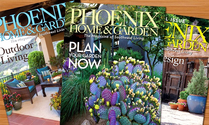 "Phoenix Home & Garden: 12- or 24-Month Subscription to ""Phoenix Home & Garden"" (Up to 47% Off)"