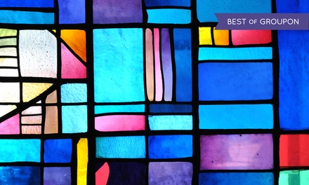 Stained Glass Workshop at VisArts (40% Off)