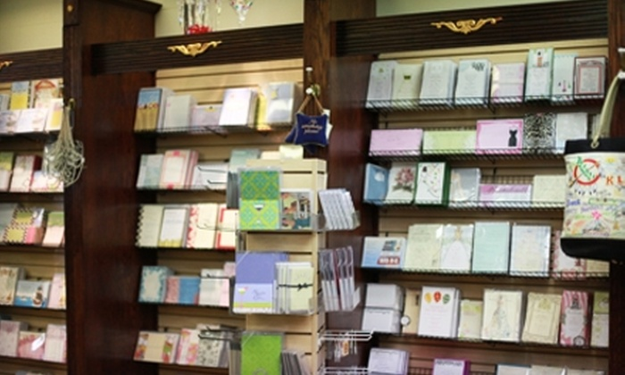 Red Fox Paperie - Central Oklahoma City: $30 for $60 Worth of Stationery at Red Fox Paperie