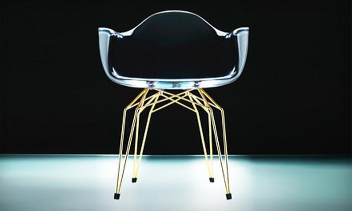 Gruppo Seccio - Manhattan: $245 for Gold-Plated Diamond Armchair from Gruppo Seccio ($490 Value)