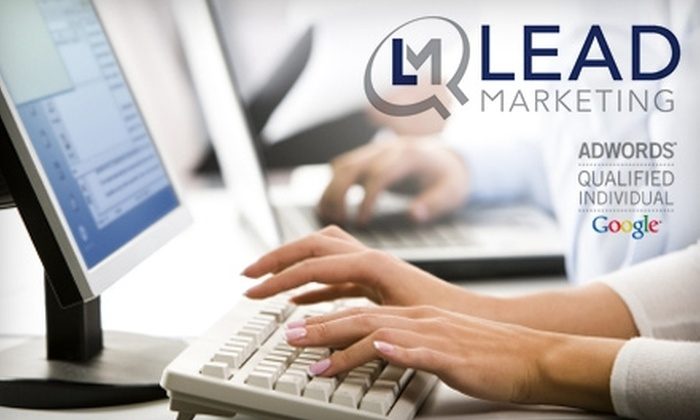 """LEAD Marketing Agency - Heartside-Downtown: $49 for Ticket to """"Search Engine Marketing: Using Search to Drive Sales"""" Presented by LEAD Marketing Agency and Featuring Google"""
