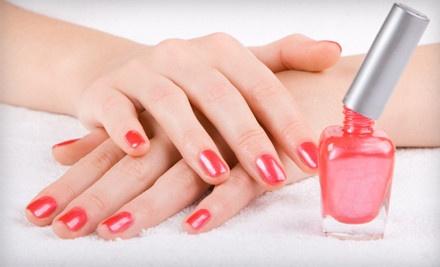 1 Shellac Manicure (a $35 value) - Bei Capelli Salon in Lubbock