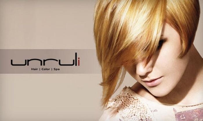 Unruli - Franklin: $150 for $350 Toward a Brazilian Blowout Hair Treatment at Unruli