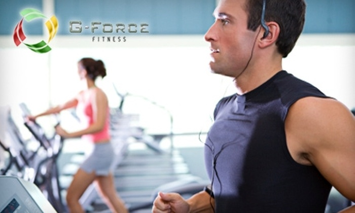G-Force Fitness - Kentwood: $30 for 30-Day Unlimited Membership, Classes, Personal-Training Session, and Childcare at G-Force Fitness (Up to $105 Value)