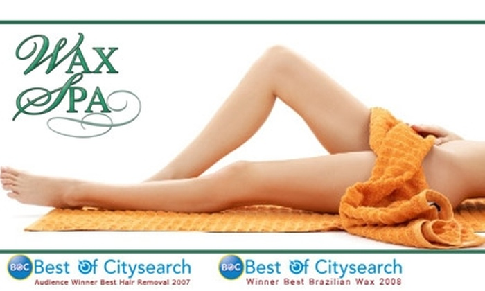 Wax Spa - Miami Shores: $20 for $40 Worth of Waxing at Wax Spa