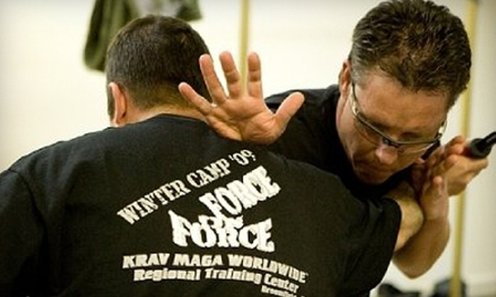 Colorado Krav Maga - Multiple Locations: $55 for One Month of Unlimited Krav Maga, CrossFit, and Fitness Classes at Colorado Krav Maga (Up to $199 Value)