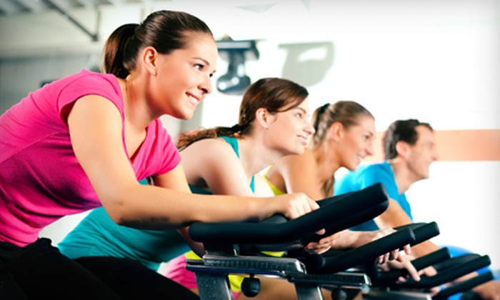 Anytime Fitness - Geneva: Four or Eight Indoor Cycling Classes at Anytime Fitness in Geneva (Up to 81% Off)