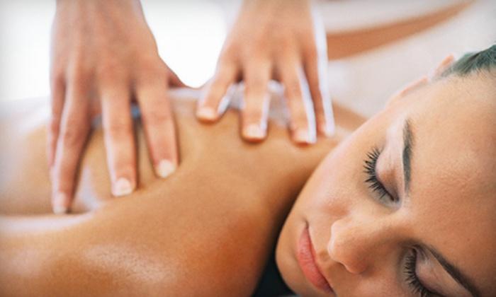 G Salon and Spa - Lindridge - Martin Manor: Massage, Massage Plus Shampoo and Style, or Massage, Facial, Shampoo and Style at G Salon and Spa