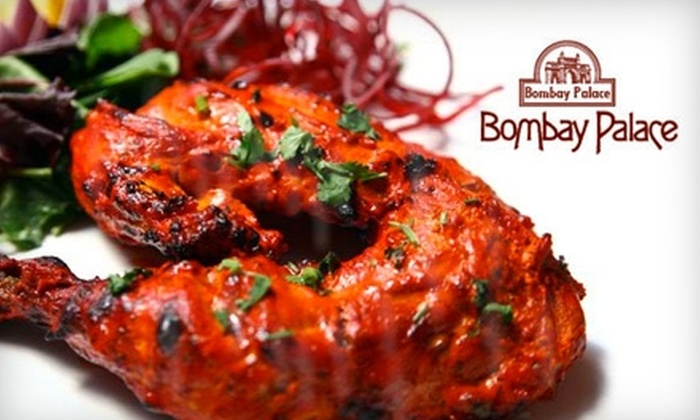 Bombay Palace - Midtown Center: $15 for $30 Worth of Authentic Indian Cuisine and Drink at Bombay Palace