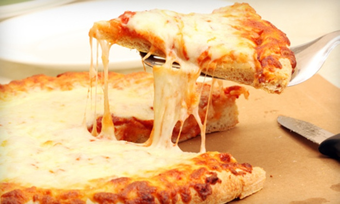 Just Pizza - Rock Creek: Two Large Pizzas, Two Sodas, and Cheese Breadsticks or $10 for $20 Worth of à la Carte Fare at Just Pizza in Gibsonville