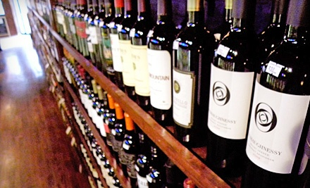 $30 Groupon to Printers Row Wine Shop - Printers Row Wine Shop in Chicago