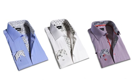 Rosso Milano Modern-Fit Dress Shirt