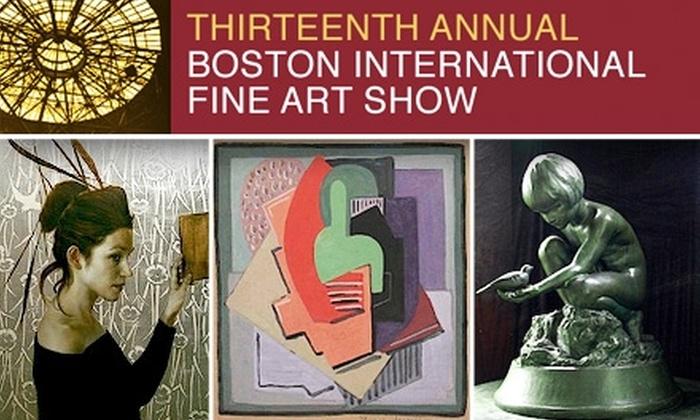 Boston International Fine Art Show - South End: $15 for Two Tickets to the Boston International Fine Art Show