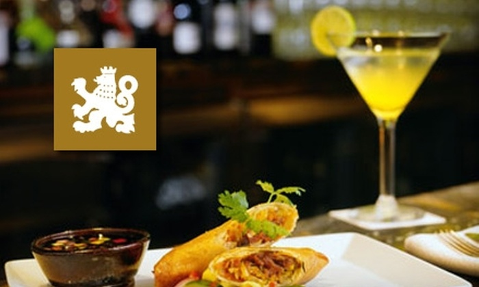 Rein Restaurant - Garden City: $25 for $50 Worth of Dinner and Drinks at Rein in the Garden City Hotel