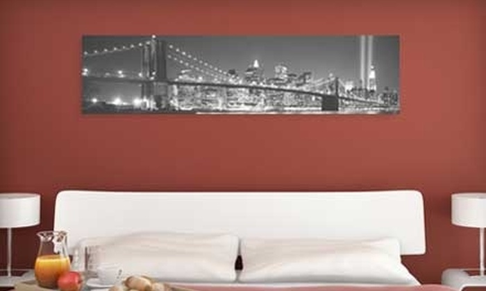 Larger Than Life Prints - Windsor: $35 for a Panoramic Wall Mural from Larger Than Life Prints ($84 Value)
