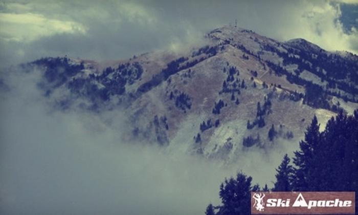 Ski Apache - Mescalero: $22 for a One-Day Lift Ticket at Ski Apache in Mescalero (Up to $54 Value)