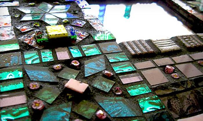 Laura K. Aiken Mosaics - Greenville: $25 for a Mosaic Art Class at Laura K. Aiken Mosaics ($50 Value)