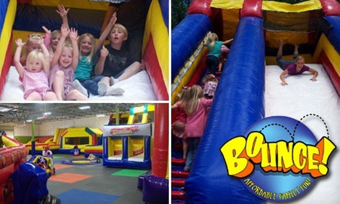 Bounce - Meridian: $15 for Five Passes to Bounce in Meridian (Up to $32.50 Value)
